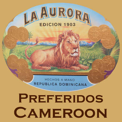 La Aurora Preferidos Platinum Cameroon Cigars Online for Sale