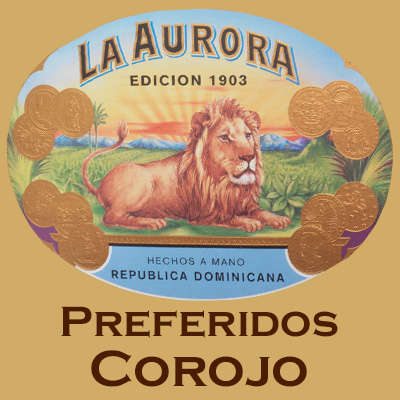 La Aurora Preferidos Gold Dominican Corojo Cigars Online for Sale