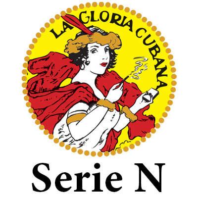La Gloria Cubana Serie N Rojo Logo