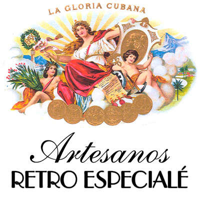 La Gloria Cubana Artesanos Retro Especiale Club 5 Pk Logo