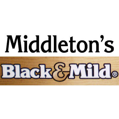 Black & Mild By Middleton Wine Wood Tip 10/5 Logo