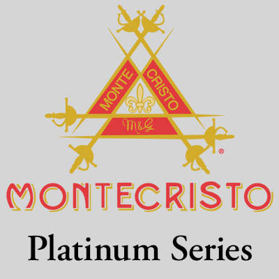 Montecristo Platinum Robusto 5 Pack Logo
