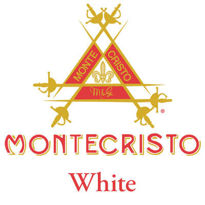 Montecristo White No. 2 5 Pack Logo
