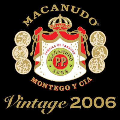 Macanudo Vintage 2006 Robusto Logo