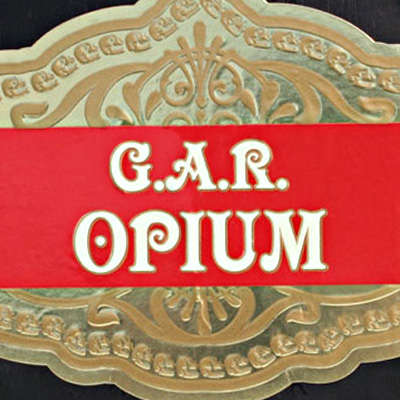 G.A.R. Opium by George Rico Gran Robusto - CI-OPI-GROBN - 400