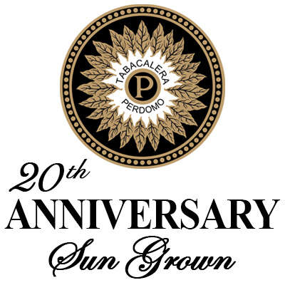 Perdomo 20th Anniversary Sun Grown Gordo Logo