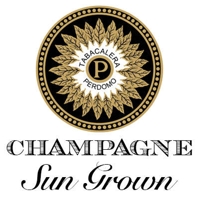 Perdomo Champagne Sun Grown Churchill Logo