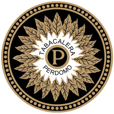Perdomo Leather Cigar Case Logo