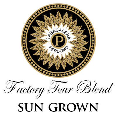 Perdomo Factory Tour Blend Sun Grown