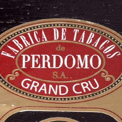 Perdomo Grand Cru 2006 Grand Robusto Sun Grown 5 Pack Logo