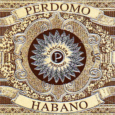 Perdomo Habano Barrel Aged Churchill Logo