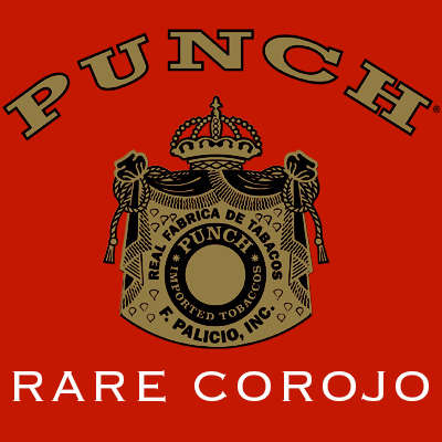 Punch Rare Corojo Elite 5 Pack Logo