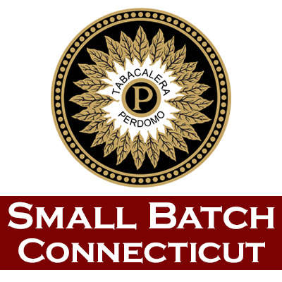 Perdomo Small Batch Connecticut Corona 5/4 Logo