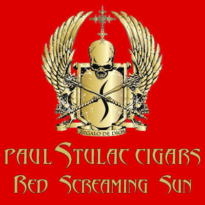 Paul Stulac Red Screaming Sun Robusto Logo