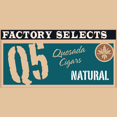 Quesada Factory Selects Q5 Natural Toro Gordo 5 Pack - CI-QF5-TORGN5PK - 400