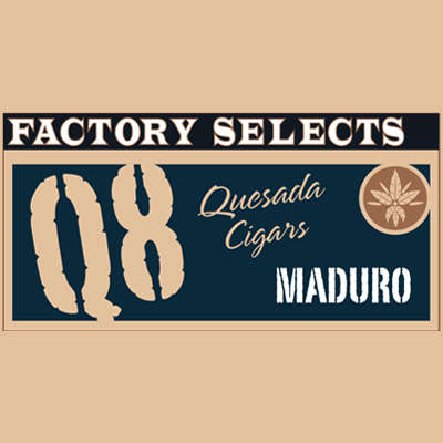 Quesada Factory Selects Q8 Maduro