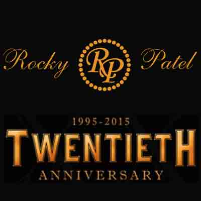 Rocky Patel 20th Anniversary Robusto Grande Logo