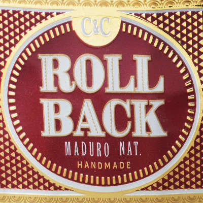 Roll Back Maduro Robusto Logo