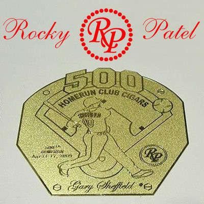 Rocky Patel Gary Sheffield HR 500 Toro 2012 Logo
