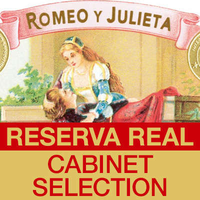 Romeo y Julieta Reserva Real Cabinet Seleccion Churchill Logo