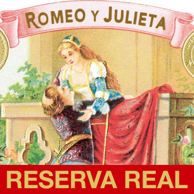 Romeo y Julieta Reserva Real Churchill Logo