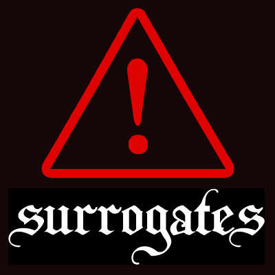 Surrogates Animal Cracker Logo