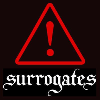 Surrogates Satin Glove 5 Pack