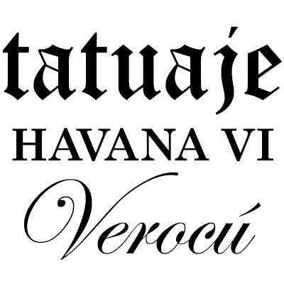 Tatuaje Havana Verocu