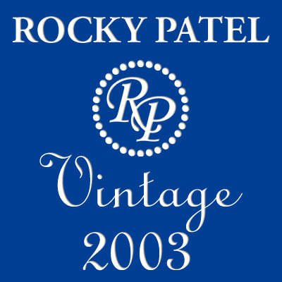 Rocky Patel Vintage 2003 Cameroon Robusto 5 Pack Logo
