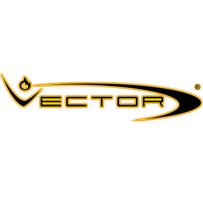 Vector Thundra Gunmetal Satin Logo