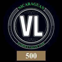 Value Line Nicaraguan #500