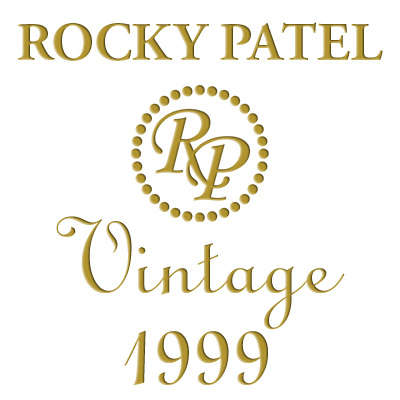 Rocky Patel Vintage Connecticut 1999 Churchill Tubes Logo