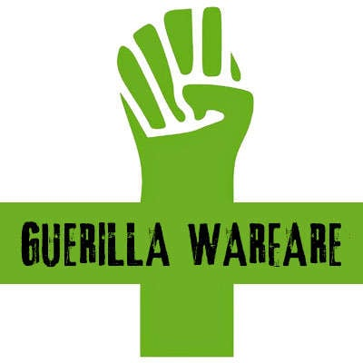 Viva Republica Guerrilla Warfare Petite Logo