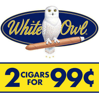 White Owl 2 For 99 White Grape Logo