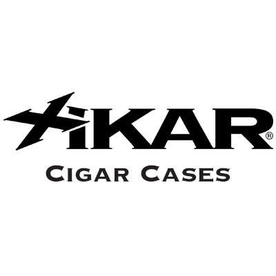Xikar Envoy Leather 3 Cognac Logo
