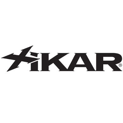 Xikar Trezo Triple Flame Black Logo