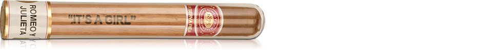 Romeo y Julieta New Baby Reserva Real It's a Girl