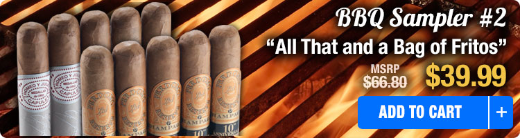 Famous Smoke BBQ Cigar Sampler 2