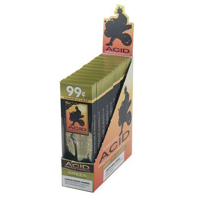 Acid Cigarillos Green - CI-ACG-GREN - 400