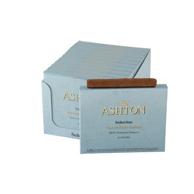 Ashton Small Cigars Senoritas Connecticut 10/10 - CI-ACT-SENN - 400