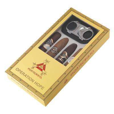 Altadis Accessories and Samplers Montecristo Operation Hope 4 Pack with Slimline Cutter - CI-ALT-HOPESC - 400