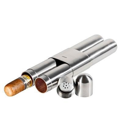 Stainless Steel Cigar Case-CC-ANI-SSC4377 - 400