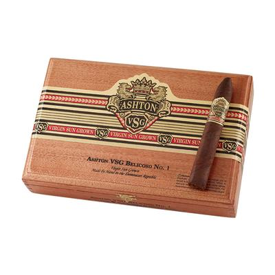 Ashton Virgin Sun Grown Belicoso No. 1 - CI-ASG-BELN - 75