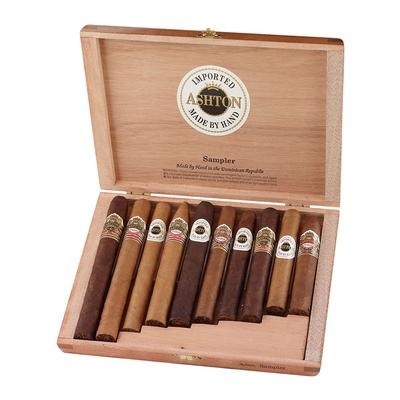 Ashton 10 Cigar Assortment-CI-ASH-10SAM - 400