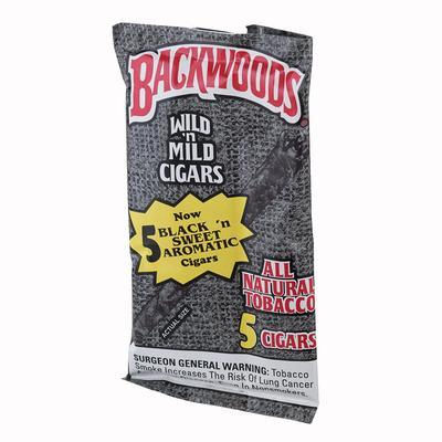 Backwoods Black (5) - CI-BAK-BK40PKZ - 75