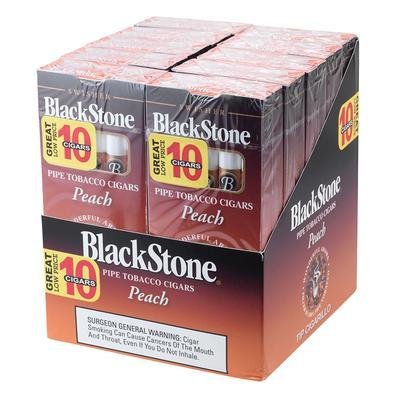 Blackstone by Swisher Peach Tip 10/10 - CI-BLK-PEAPK - 400