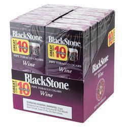 Blackstone By Swisher Wine Tip 10/10 - CI-BLK-WINPK - 400