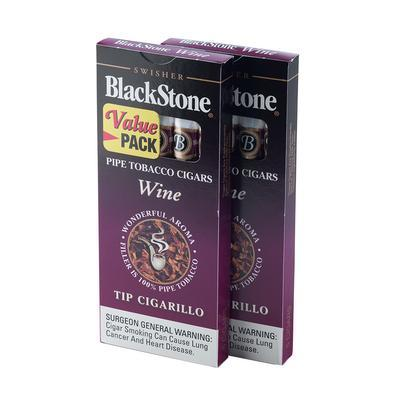Blackstone by Swisher Wine Tip (10) - CI-BLK-WINPKZ - 75