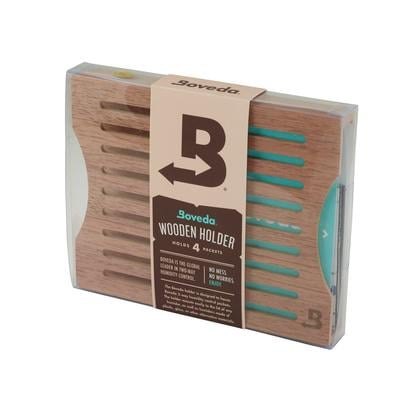 Spanish Cedar 4pk Holder-HD-BOV-HOLDER - 400