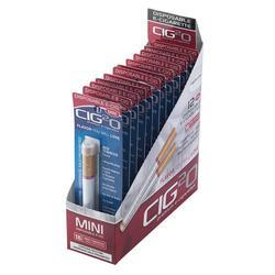 Cig2O Disposable Mini E-Cig Red Tobacco 18mg 12pk - EC-C2O-DMRED18 - 400